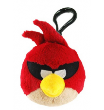 Angry Birds Space Plush Backpack Clip - Super Red Bird