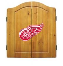 Detroit Red Wings Dart Board Cabinet