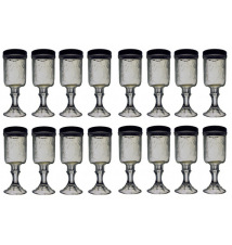12 PACK  -  Redneck Hill Top Mixer Wine Glass 16oz