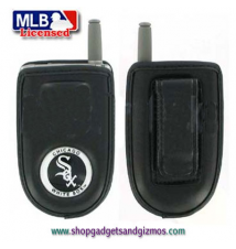 Chicago White Sox Leather Cell Phone Pouch