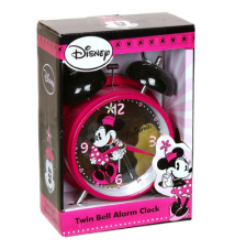 Disney*s Minnie Mouse Twin Bell Alarm Clock