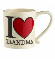 Amscan I Heart Grandma 16oz Coffee Mug