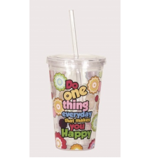 Acrylic Cup - Do One Thing Everyday That Makes You Happy #46