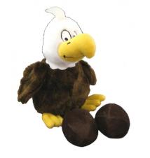 Egg Babies Bald Eagle Dog Toy
