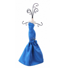 Blue Rose Jewelry Hanger #128