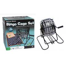 Cardinal Industries* Deluxe Metal Bingo Cage Set