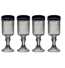 4 PACK  -  Redneck Hill Top Mixer Wine Glass 16oz