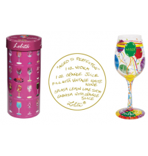 Aged to Perfection Wine Glass by Lolita Love My Wine Stemware Collecti