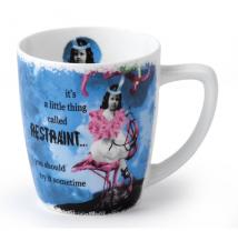 Erin Smith*s Holy Crap Restraint Porcelain Mug