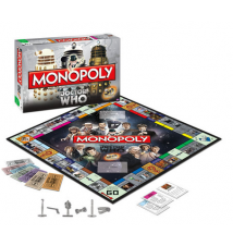Doctor Who 50th Anniversary Collectors Edition Monopoly Set