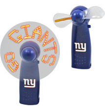 Champion Treasures NFL New York Giants Message Fan