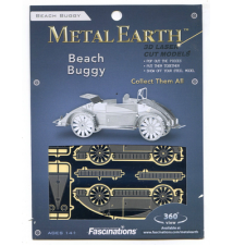 Beach Buggy Metal Earth 3D Laser Cut Model By Fascinations #003