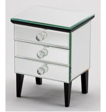 Diana Mirrored 3 Draw Jewelry Box #280
