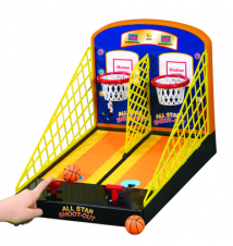 All Star Shoot Out Electronic Basketball Game