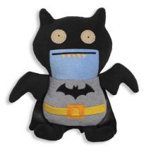 DC Comics Black Batman Uglydoll Ice Bat Plush