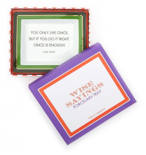 *You Only Live Once* Porcelain Desk Tray With Gift Box