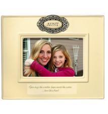 Aunt Ceramic Picture Frame