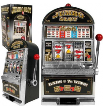 Bank- Casino Toy Slot Jumbo