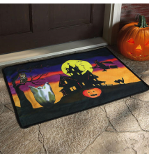 Electronic Scary Sounds Witches Cackling Holloween Door Mat