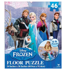 Disney Frozen Floor Puzzle (46-Piece) 24* x 36*