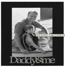 Daddy and Me 4x6 Frame