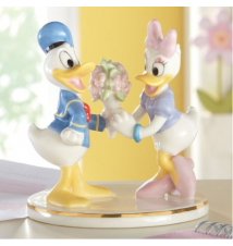 Donald & Daisy Together Forever Figurine By Lenox #105