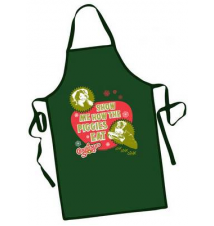 Christmas Story  Chef BBQ Apron - Show me the Piggies