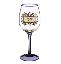 Amscan Instant Wit Wine Glass