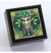 Anne Stokes Green Man Trinket Box