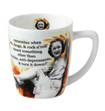 Erin Smith*s *Remember When *Sex- Drugs- & Rock n Roll** Holy Crap Mug