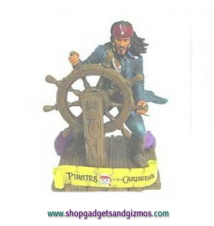 Captain Sparrow Ships Wheel Paperweight