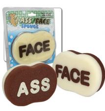 Ass/Face Bath Sponge