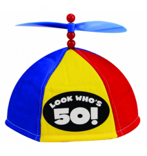 Big Mouth Toys Look Who*s 50! - Propeller Beanie