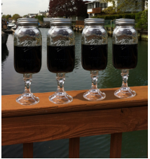4 PACK  -  Redneck Mega Guzzler Wine Glass 32oz