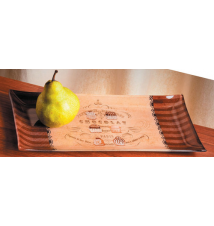 *Chocolat* Rectangular Serving Tray