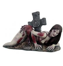 Exotic Zombie Girl Figurine