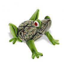 Badash Crystal Art J483 Glass Frog