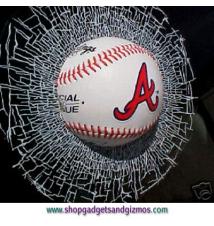 Atlanta Braves Shatter Ball #9