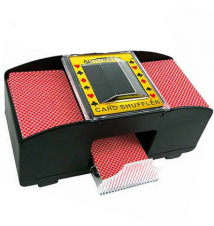 CHH 2 Deck Battery Operated Card Shuffler