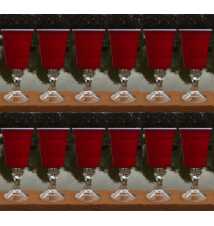 12 Pack Redneck SOLO Wine Cup - 18 Ounce