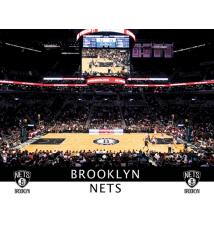 Brooklyn Nets Home/Away Stadium Canvas Wall Art #008