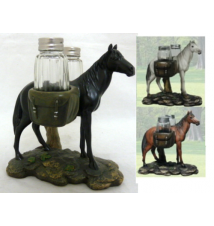*Equus Spice* Horse Salt and Pepper Shaker Set