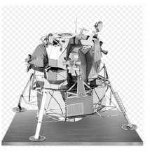 Apollo Lunar Module Metal Earth 3D Laser Cut Model By Fascinations #04