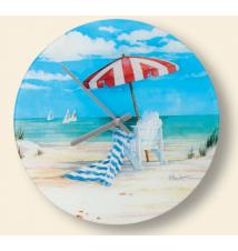 Florida Beaches Wall Clock