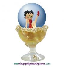 Betty Boop Champagne Betty Mini Globe
