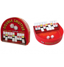 Double shutter Shut The Box in Collectors Tin by Blue Orange Games