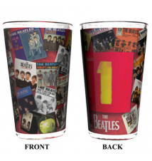 Boelter Brands Beatles Sublimated Pint Glass- 16-Ounce- *Albums One*