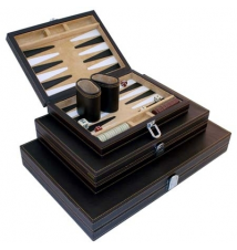 Deosia Vinyl 9* Magnetic Backgammon Set
