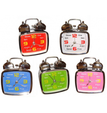 Elufa Double Bell Alarm Clocks