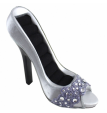 Dazzling Gems Shoe Ring Holder #28